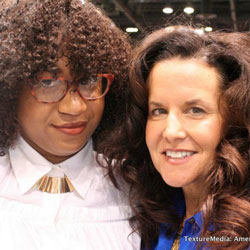 NaturallyCurly's Michelle Breyer at the Texture Pavillion