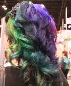 Fashion colored hair at BS 2012