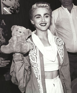 Madonna in 1987