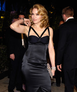 Madonna at the Vanity Fair Oscar Party at Mortons in West Hollywood February 25, 2007