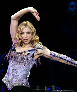 Madonna at the MEN arena in Manchester August 14, 2004
