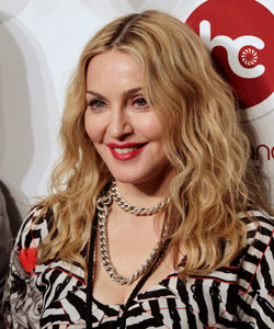 Madonna opens Hard Candy Fitness gym in Mexico City, November 29, 2010
