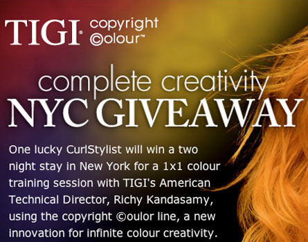 Enter to Win 2-Night NYC TIGI Color Training Giveaway!