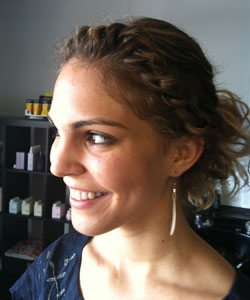 Tracey Wallace's under-not-over two-strand twist