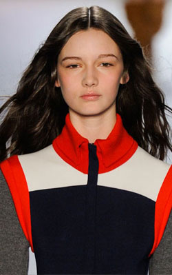 Lacoste model sporting sleek and sporty waves