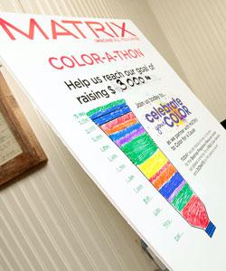 Matrix Color-a-thon poster