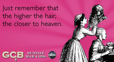 The higher the hair Someecard