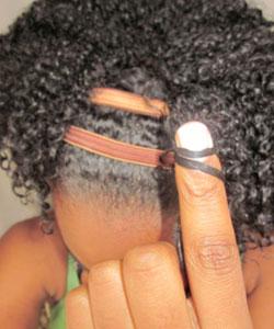 Finger coil