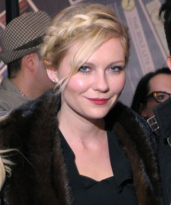 Kirsten Dunst with a Swiss braid
