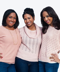 The Williams' Sisters, founders of The Fly Cut.