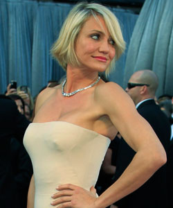 Cameron Diaz Cries After Unintentional Big Chop