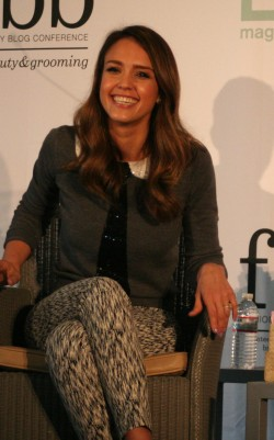 Jessica Alba at Lucky FABB