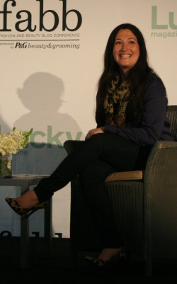Randi Zuckerberg at Lucky FABB