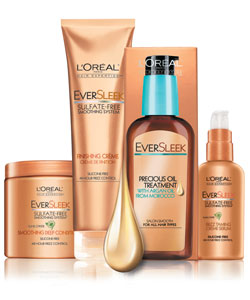 L'Oreal EverSleek hair products