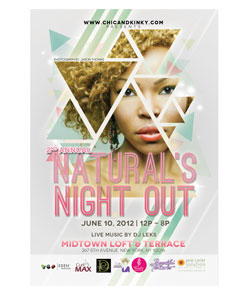 Naturals Night Out flyer