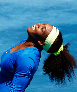 Serena Williams and her amazing curls