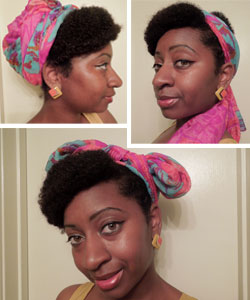 head wrap hairstyles