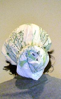 Head wrap hair scarf style