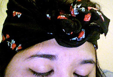 Forget-Me-Not: Hair Scarf Styles