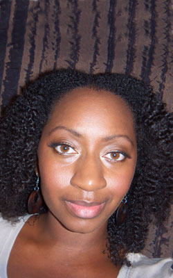 Lisa Michelle's twist-out style
