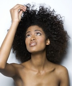 African Americans women have trouble with moisture retention.