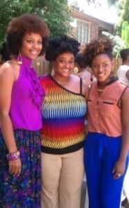 Curly ladies