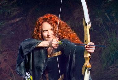 Jessicurl Gets Brave for Movie Premiere