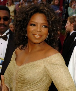 Oprah at the Academy Awards in 2005