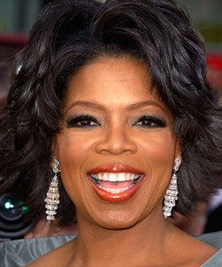 Oprah at the Academy Awards in 2004
