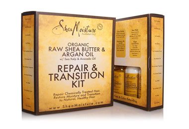 Shea Moisture Repair and Transition Kit