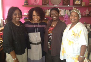 Lisa Price and Ladies with curly hair