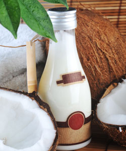 Coconut oil for curly hair
