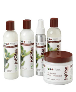 Eden Bodyworks Jojoba Monoi Products for Natural Hair