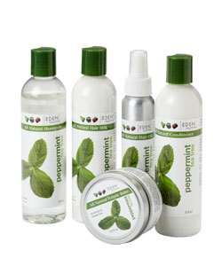 Eden Bodyworks Peppermint Tea Tree Products for Natural Hair