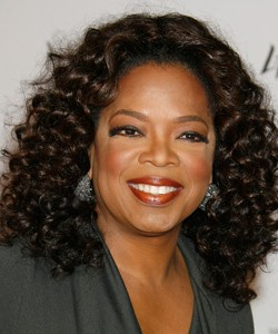 Oprah with full spirals