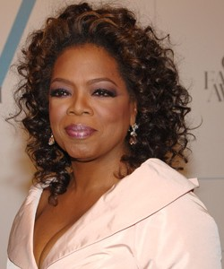 Oprah with smoky eyes