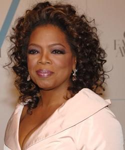 Oprah with smoky eyes