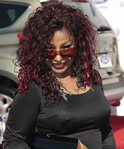 Chaka Khan on the red carpet at 2012 BET awards