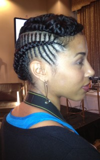 Essence Hair Style Amazing Essence Music Festival Updo Style Trend  Naturallycurly