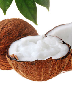coconut milk treatment for softening coily hair
