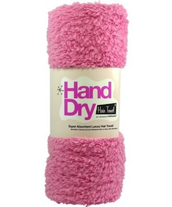 Hot Heads Hand Dry Hair Towel