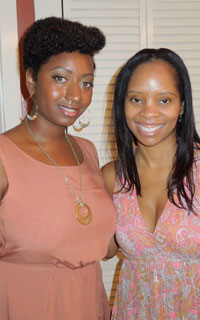 Lisa with EDEN BodyWorks VP of Marketing Ylorie Anderson