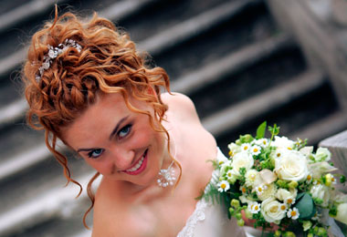 DIY Curly Wedding Hairstyles