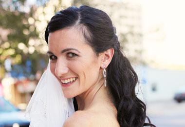 DIY Wavy Wedding Hairstyles