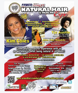 Armed forces natural hair and health expo