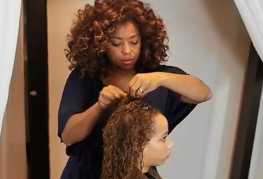 Create Volume for Fine Curls with Pantene Pro-V