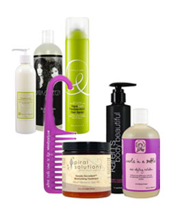 CurlMart Decadent Summer Curls Kit and Curly Moisturizing Kit