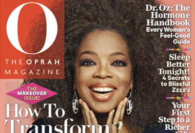 Oprah Shows Off Her Natural Curls!