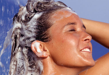 4 Tips for Washing Curly Hair