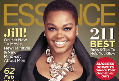 Jill Scott Goes Natural for the Cover of Essence